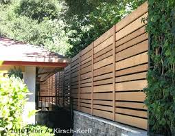 Wood Fence Cover Idea Ca Custom Modern Horizontal Wood Fence La And Ca Wood Fence Covering Ideas Amenagement Jardin Claustra Exterieur Idees De Cloture