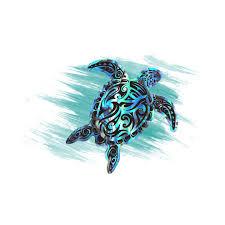 1pcs Cartoon Dazzle Sea Turtle Sticker For Notebook Trolley Backpack Pvc Skateboard Helmet Car Styling Car Accessories Car Stickers Aliexpress