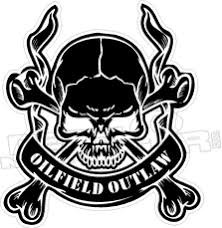 Pipeline Outlaw Hard Hat Decal Decalmonster Com