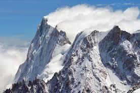 mont blanc mounn snow winter