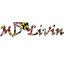 Md Flag Decal 12 Maryland Livin