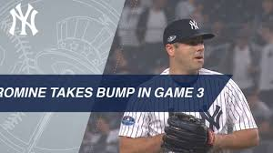 Austin Romine takes the mound in Game 3 of the ALDS - YouTube