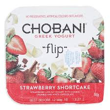 strawberry short cake flip yoghurt