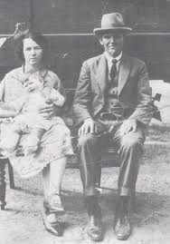 Photos: 0608 - Murray Keough with Myrtle Pearl (nee Stevens) holding  Barbara.jpg: Christina and Donald McLEAN and their descendants