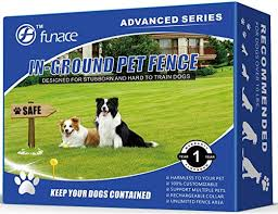 Amazon Com Underground Wired Pet Containment System Advanced 100 Safe Invisible Electric Dog Fence 3 Adjustable Modes Beep Low High Shock For Small To Extra Large Dogs Over 10