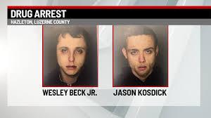 2 men arrested for drug possession after Hazleton traffic stop |  PAhomepage.com