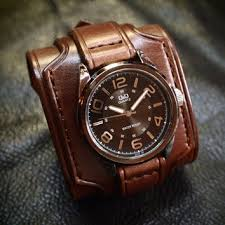 leather cuff watch drake uncharted