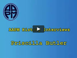 AAPM History Interview with Priscilla Butler on Vimeo