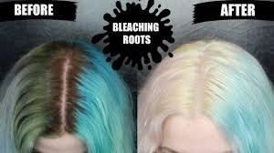 bleach bath to remove color bleaching