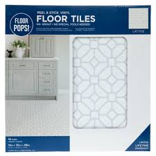 lattice l stick vinyl floor tiles