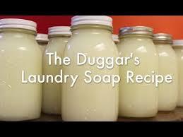 the duggar s laundry soap recipe how