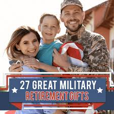 27 great military retirement gifts