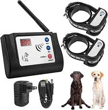 Amazon Com Beinhome 2 Dogs Wireless Electric Fence Outdoor Wireless Fence System Cover Up To 900ft With Upgraded 2 Receiver Collar Beinhome Pet Supplies