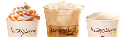 karuba gold seasonal flavors now