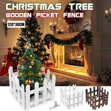 Diy Wood Picket Fence House Wedding Party Garden Christmas Tree Decor 120cmx30cm Shopee Philippines