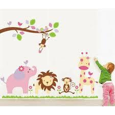 Baby Cartoon Animal Wall Sticker Removable Art Home Decor Decal Mural Kids Room Walmart Com Walmart Com