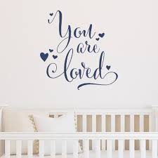 You Are Loved Wall Quotes Decal Wallquotes Com
