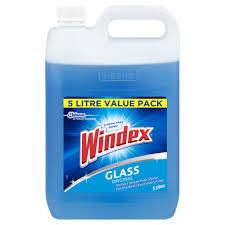 windex 5l glass original value pack