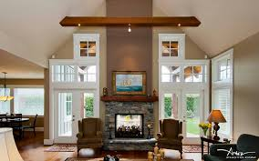 good double sided fireplace design home
