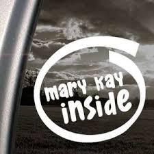 Mary Kay Inside Decal Car Truck Bumper Window Sticker On Popscreen