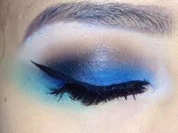 blue edm rave makeup tutorial you