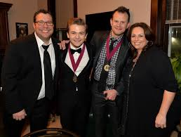 Troy Verges, Hunter Hayes, Kent Earls, Cyndi Forman - Troy Verges Photos -  Stars at the BMI Awards Afterparty - Zimbio