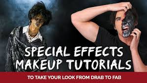 special effects makeup tutorials to