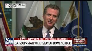 Shutdown Lockdown Order Governor Gavin ...