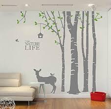 Christma Deer Tree Wall Stickers Nursery Buy Online In Andorra At Desertcart