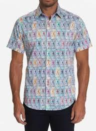 Robert Graham Spark Plug Short Sleeve Sport Shirt : MacDermotts On Bernard