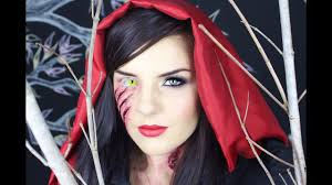 dead riding hood makeup tutorial