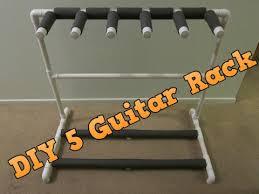 diy 5 guitar stand rack made for
