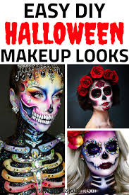 33 simple sugar skull makeup looks 2018