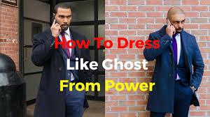 how to dress like ghost from power