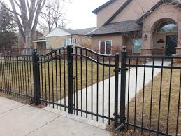 Wrought Iron Fences By Boundary Fence Supply Company Residential Industrial Fencing Company In Denver Co
