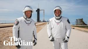 SpaceX launches first manned mission to ...