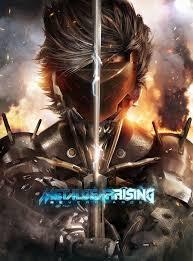 metal gear rising revengeance poster
