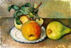 Cezanne, Still Life with Apples and a Pear, 1888-1890 | Paul ...