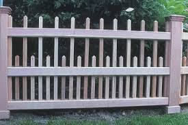 Wooden Fence Components Custom Made By New England Woodworks