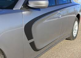 2015 2021 Dodge Charger Stripes C Stripe Combo Hood Door Decals Graphic Auto Motor Stripes Decals Vinyl Graphics And 3m Striping Kits