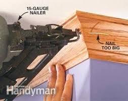how to use a trim nailer gun the