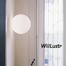 modern led wall sconce light diameter