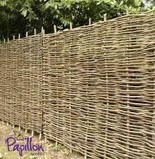 Hazel Hurdles Fencing Panel 1 82m X 1 5m 6ft X 5ft By Papillon 54 99 Garden Fence Panels Fence Panels Garden Fence