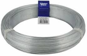 500m Soft Galvanised Fence Wire Electric Fence Tie Wire 4mm Farm Electric Fence Ebay