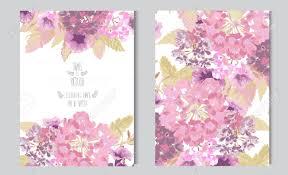 Tarjetas Elegantes Con Flores En Colores Pastel Decorativos