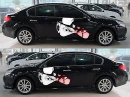 Naruto Kakashi Anime Car Door Graphics Decal Vinyl Sticker Manga Fit Black Car Ebay