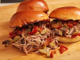 easy oven baked pulled pork sandwiches