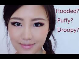 hooded eyes with puffy droopy eyelid