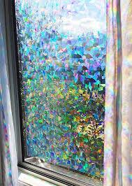 com decorative rainbow window