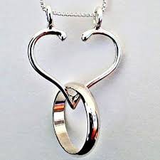 com ring holder necklace made